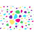 abstract bright background bright cartoon vector image vector image
