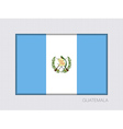 Flag of Guatemala Aspect Ratio 2 to 3 vector image vector image