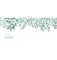 nature realistic background foliage vector image