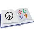 Peace Religion vector image
