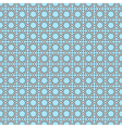 Seamless geometric oriental pattern vector image vector image