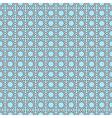 Seamless geometric oriental pattern vector image vector image