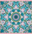 seamless pattern vintage decorative vector image