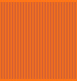 abstract orange color striped pattern background vector image vector image