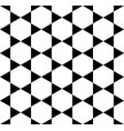 black ribbon star pattern vector image vector image