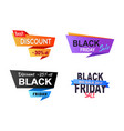 discount -25 off stickers vector image