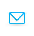 envelope icon in trendy flat style isolated on vector image