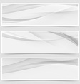 Halftone grey abstract line header layout vector image vector image