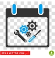 Instrument Tools Calendar Day Eps Icon vector image vector image