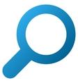 View Tool Gradient Icon vector image
