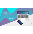 web page design templates image vector image vector image