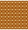 An orange seamless pattern background with a cubic vector image vector image