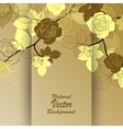 Beautiful abstract branch vector image vector image