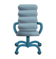 leather grey chair icon cartoon style vector image vector image