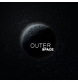 Outer Space Abstract vector image vector image
