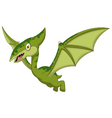 pterodactyl cartoon for you design vector image