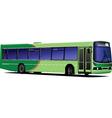 public bus vector image vector image