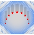 star web icon on a flat geometric abstract vector image vector image