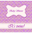 Baby-shower-abstract-background-twins-3 vector image vector image