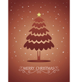 Christmas card 02 vector image vector image