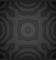 monochrome volumetric decoration background vector image