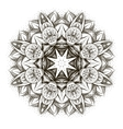 ornamental Lotus vector image