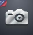 Photo Camera icon symbol 3D style Trendy modern vector image