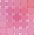 Pink abstract background geometric pattern vector image vector image