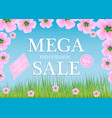 sale a discount of 50 percent only this weekend vector image vector image