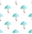 vintage umbrellas seamless pattern Cute vector image vector image