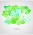 watercolor splash background vector image