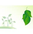 Wind generator green energy background vector image