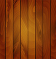 Realistic texture of wooden boards vector image