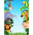 Animal cartoon vector | Price: 5 Credits (USD $5)