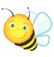 cheerful cute bee vector image