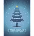 Christmas card 03 vector image vector image