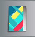 colorful abstract background for the banner flyer vector image vector image
