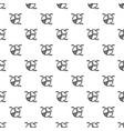 diagram pie pattern seamless vector image