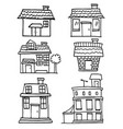 House hand draw vector image