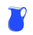 Milk jug or pitcher logo vector image