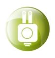 plug icon symbol design vector image vector image