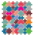 puzzle2 resize vector image vector image