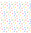 sequins confetti pattern vector image vector image