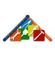 tool symbol repair and service vector image vector image