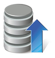 Upload database vector image