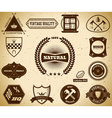 Vintage labels Collection 12 vector image vector image