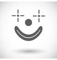 Clown icon vector image