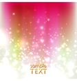 abstract holiday background with sparkles vector image vector image
