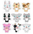 Animals pets cartoon vector image vector image