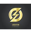 Creative logo design template vector image vector image